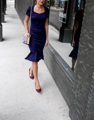 Next Wunderschönes Abendkleid dunkel blau 38