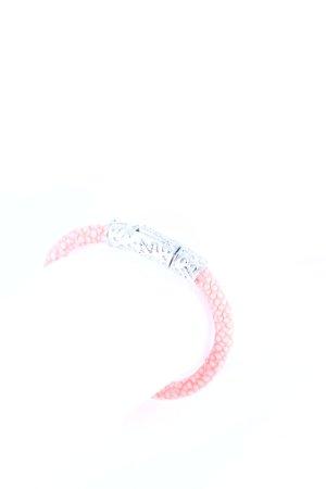 """Nialaya Bracelet """"Stingray Bracelet Coral / Silver"""""""