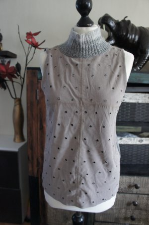 Nice Connection Cardigan en maille fine gris
