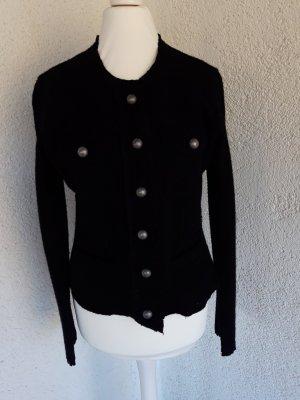Nice Connection Chaqueta de lana negro