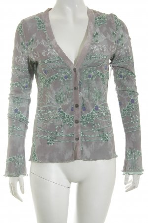 Nice Connection Jacke florales Muster Casual-Look