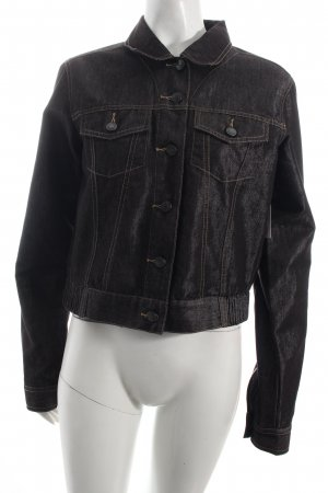 Nice Connection Jeansjacke anthrazit Casual-Look
