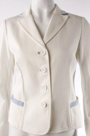 Blazer corto crema-azzurro