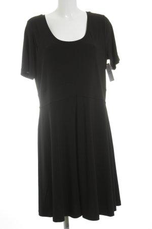 Nice Connection Jerseykleid schwarz klassischer Stil