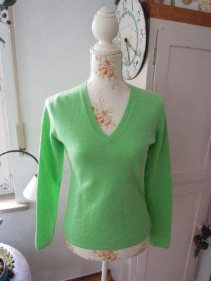 Nice Connection Kaschmir/Seide Pullover Grün Gr.36 NEU