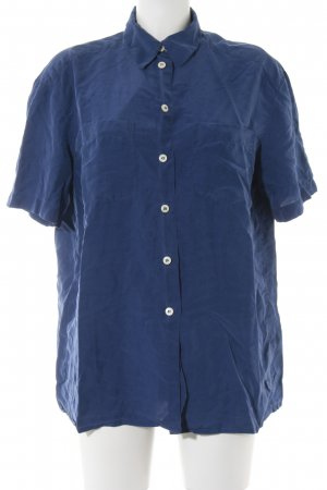 Nice Connection Kurzarm-Bluse blau Casual-Look