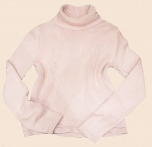 NICE CONNECTION Pullover ROLLI dick Kaschmir rose Gr. 36