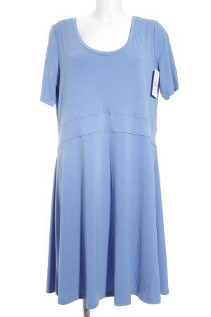 Nice Connection Shirtkleid kornblumenblau klassischer Stil