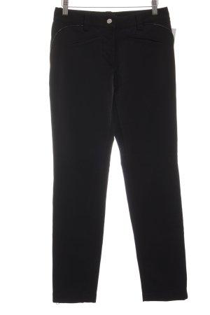 Nice Connection Pantalón elástico negro elegante