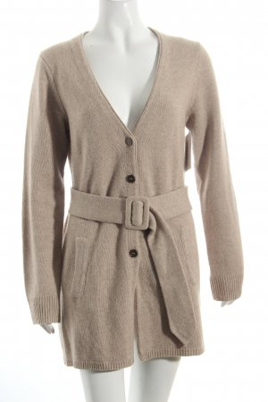 Nice Connection Strickjacke beige schlichter Stil