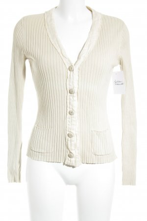Nice Connection Strickjacke creme Casual-Look