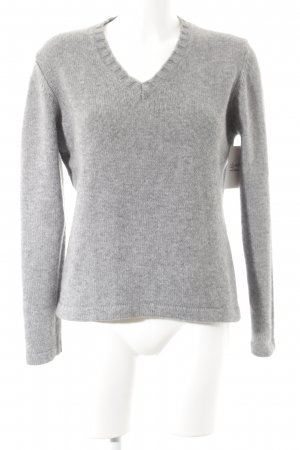 Nice Connection Strickpullover dunkelgrau Casual-Look
