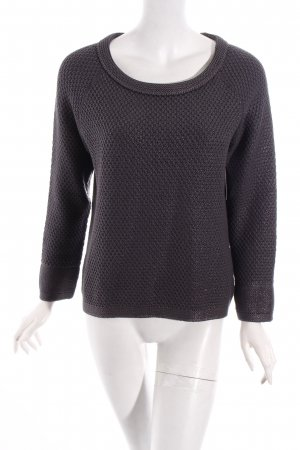 Nice Connection Strickpullover grau Casual-Look