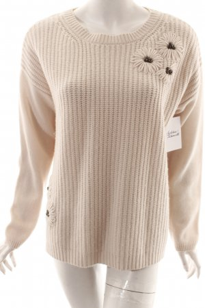 Nice Connection Wollpullover hellbeige Casual-Look