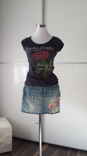 Nice Denim Mini Jeans Rock