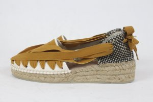 NICE THINGS BY NAGUISA Espadrilles Sandalen Gr. 37 NEU