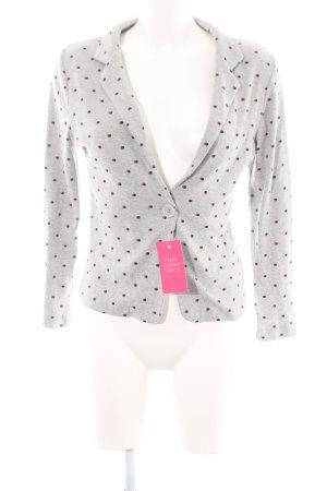 Nice Things Jersey Blazer light grey flecked casual look