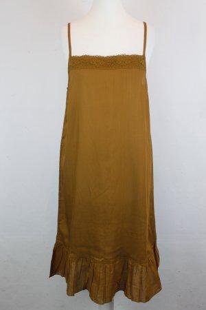 NICE THINGS Kleid Gr. 42 braun NEU mit Etikett