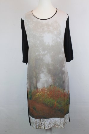 NICE THINGS Kleid Gr. 46 Tree Print Neu mit Etikett