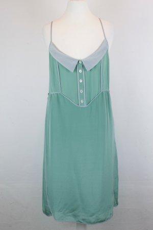 NICE THINGS Kleid Seidenkleid  Gr. 40 mintgrün Seide Neu mit Etikett