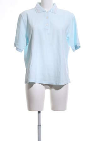 niceconnection Polo Shirt turquoise casual look