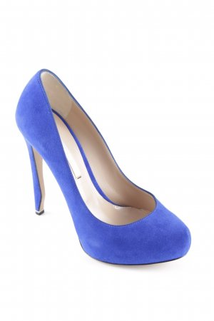 Nicholas Kirkwood Tacco alto blu stile classico