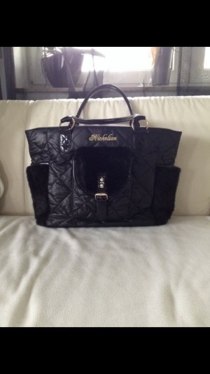 Nickelson Borsa shopper nero-oro