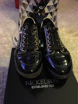 Nickelson Sneaker Lack/Schwarz Gr. 37