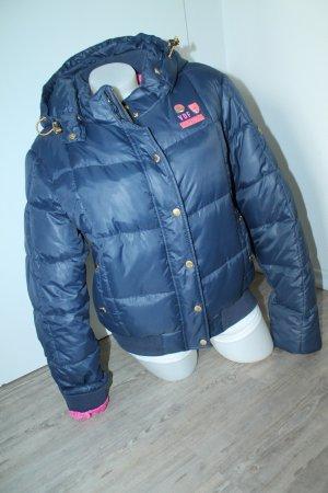 Nickelson Winterjacke Jacke Gold Gr.2XL 42 44 dunkelblau pink top