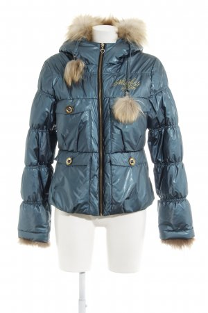 Nickelson Winterjacke stahlblau-blassblau Street-Fashion-Look