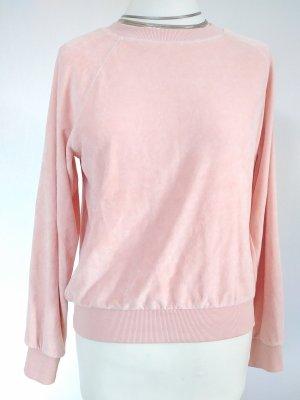 Nicki Sweatshirt in puderrosa Baumwolle
