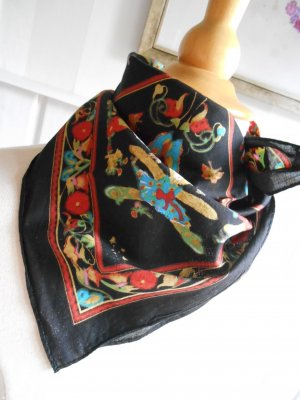 Kerchief black cotton