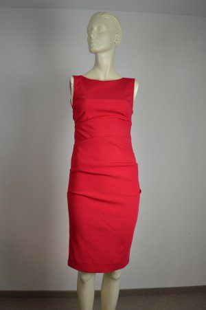 Nicole Miller New York Kleid 34 36 rot NP 349€