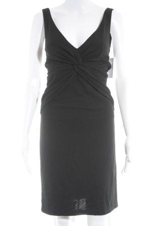Nicole Miller Trägerkleid schwarz Elegant