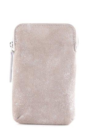 NICOLE PIETAG Carcasa para teléfono móvil color plata-gris claro look casual