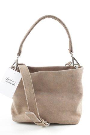 NICOLE PIETAG Crossbody bag rose-gold-coloured glittery