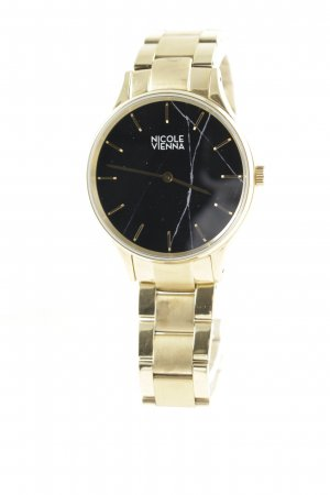 Nicole Vienna Watch With Metal Strap gold-colored casual look