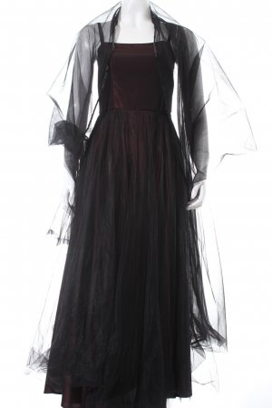 Nicowa Abendkleid braunrot