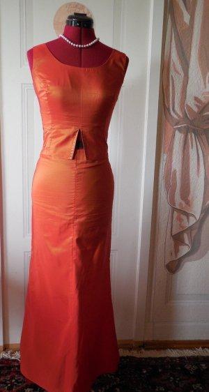Nicowa Evening Dress dark orange