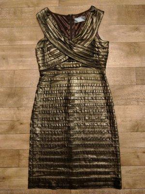 Nicowa Gold metallic Kleid Silvester Neu