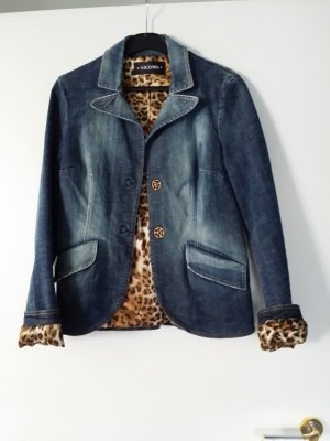 Nicowa Denim Blazer blue mixture fibre