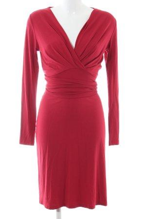 Nicowa Jerseykleid rot Elegant