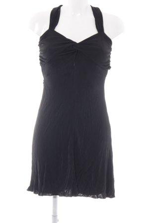 Nicowa Jerseykleid schwarz Elegant
