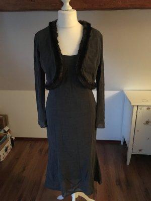 Nicowa Kleid Blazer Bolero Jäckchen 40 Abendkleid Cocktailkleid