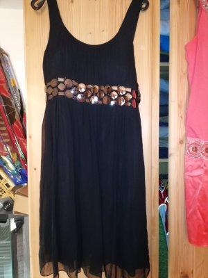 Nicowa Kleid schwarz Gr 42 mit Schal