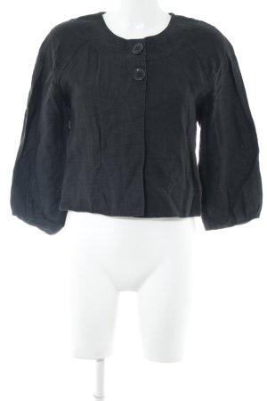 Nicowa Kurzjacke schwarz schlichter Stil