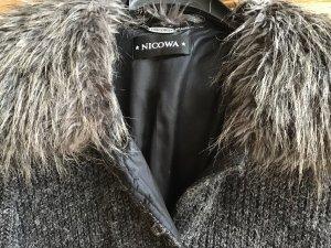 Nicowa Lange edle Strickjacke