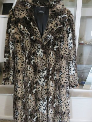 Nicowa Fake Fur Coat multicolored mixture fibre