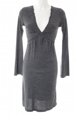 Nicowa Sweater Dress grey casual look