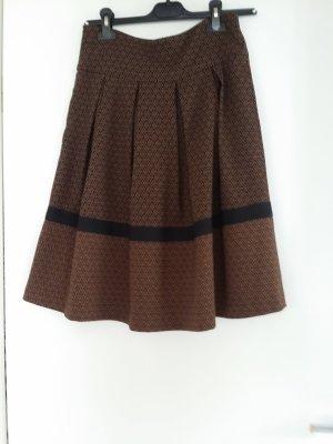 Nicowa High Waist Skirt black-brown mixture fibre